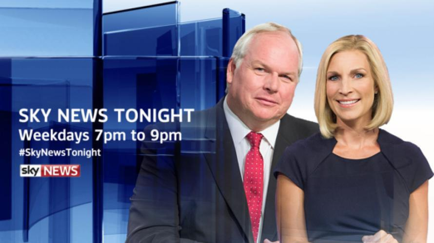 Sky News Tonight next episode air date poster
