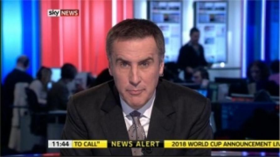 Sky News with Dermot Murnaghan next episode air date poster