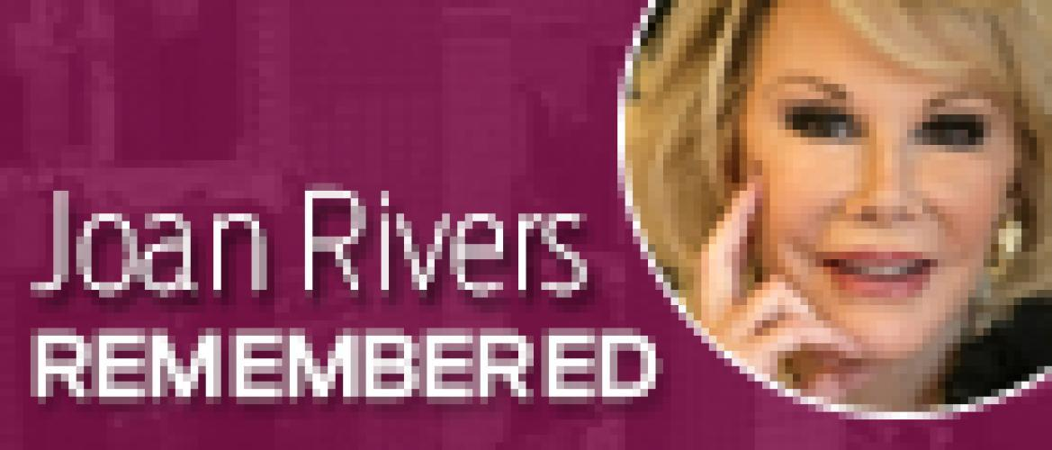 Joan Rivers Remembered next episode air date poster