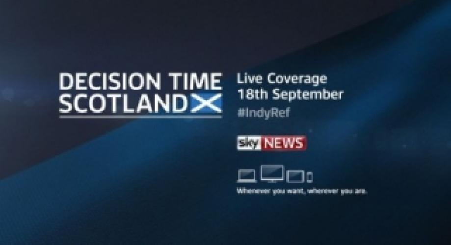 Decision Time: Scotland next episode air date poster