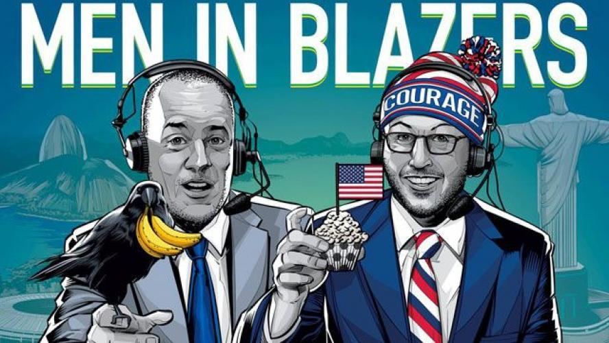 The Men in Blazers Show next episode air date poster