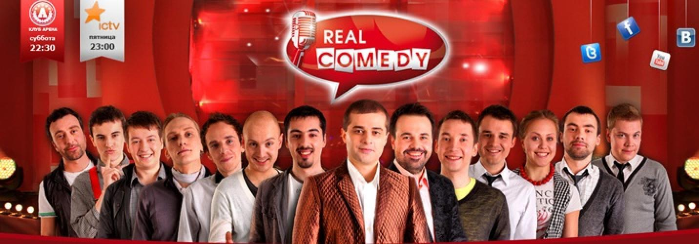Real Comedy next episode air date poster