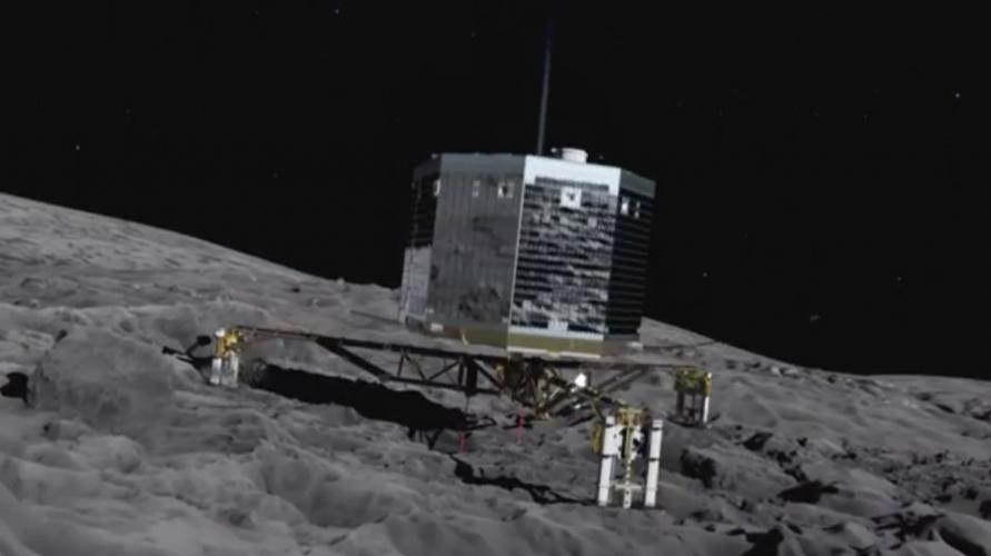 Landing On A Comet: Rosetta Mission next episode air date poster
