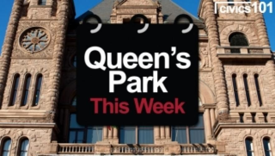 Queen's Park This Week next episode air date poster