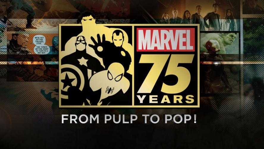 Marvel 75 Years: From Pulp to Pop! next episode air date poster