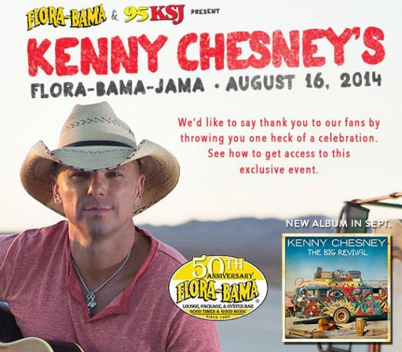 Kenny Chesney Live From the Flora-Bama-Jama next episode air date poster