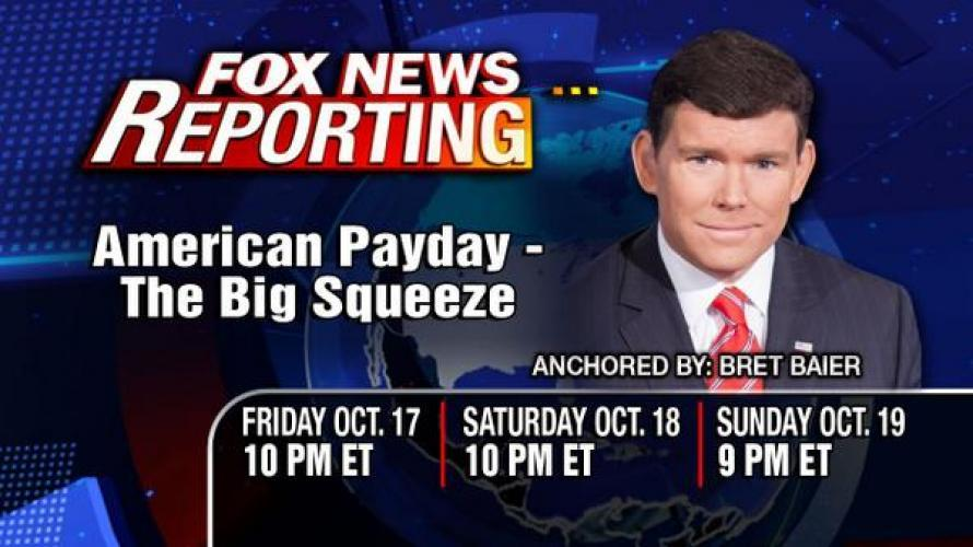American Payday: The Big Squeeze next episode air date poster