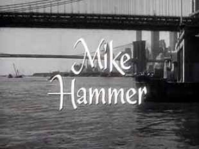 Mike Hammer (1958) next episode air date poster