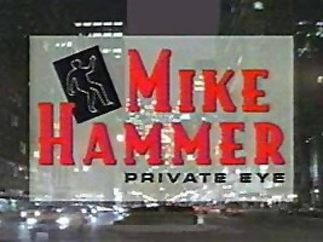 Mike Hammer, Private Eye next episode air date poster