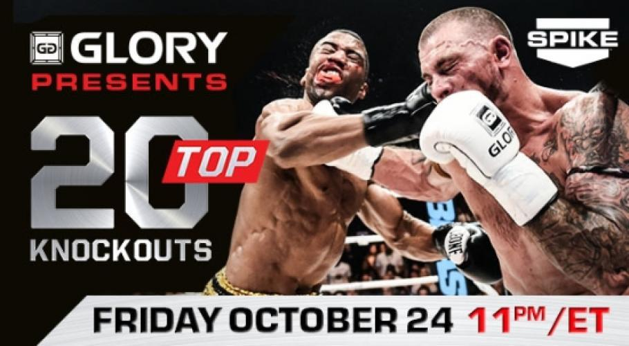 Top 20 Knockouts: Glory Kickboxing next episode air date poster