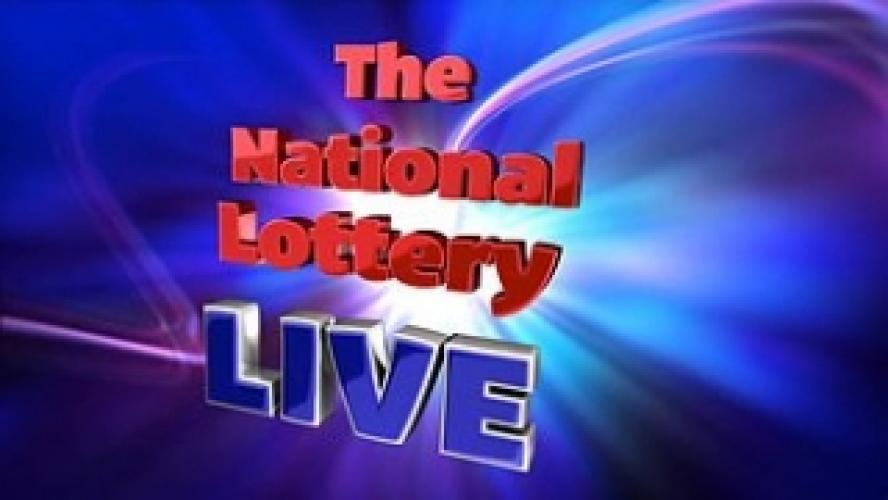 The National Lottery Live next episode air date poster