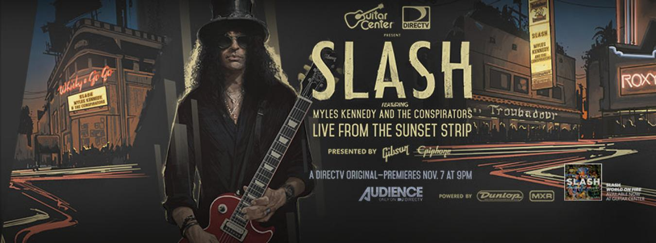 SLASH Featuring Myles Kennedy and The Conspirators Live from the Sunse next episode air date poster