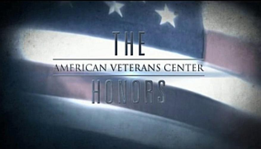 The American Veterans Center Honors next episode air date poster