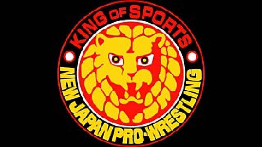 New Japan Pro Wrestling on AXS TV next episode air date poster