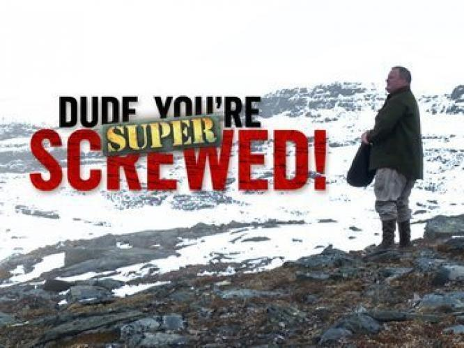 Dude, You're Screwed: Super Screwed next episode air date poster
