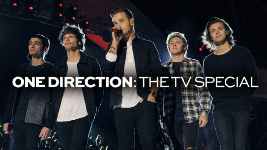 One Direction: The TV Special next episode air date poster