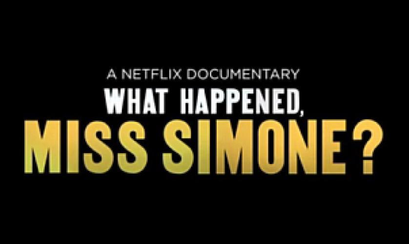 What Happened, Miss Simone? next episode air date poster
