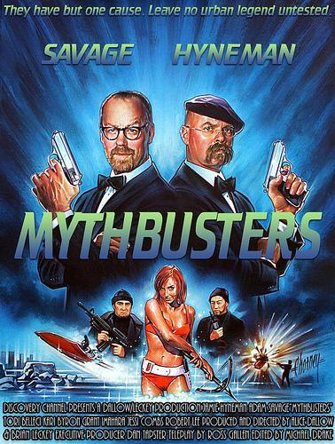 Mythbusters next episode air date poster