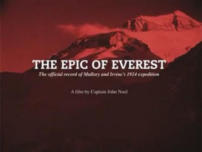 The Epic of Everest next episode air date poster