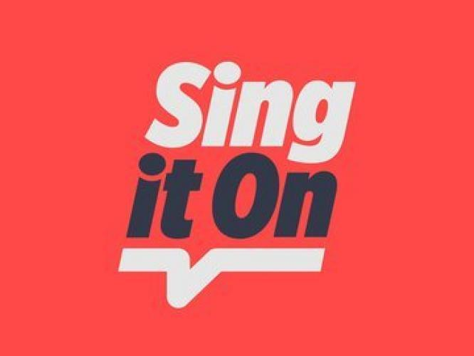 Sing It On next episode air date poster