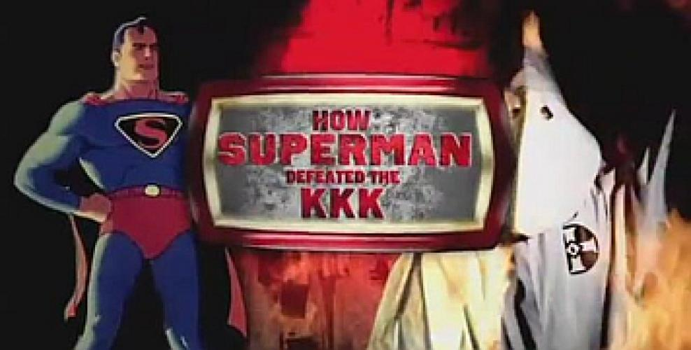 How Superman Defeated the KKK next episode air date poster