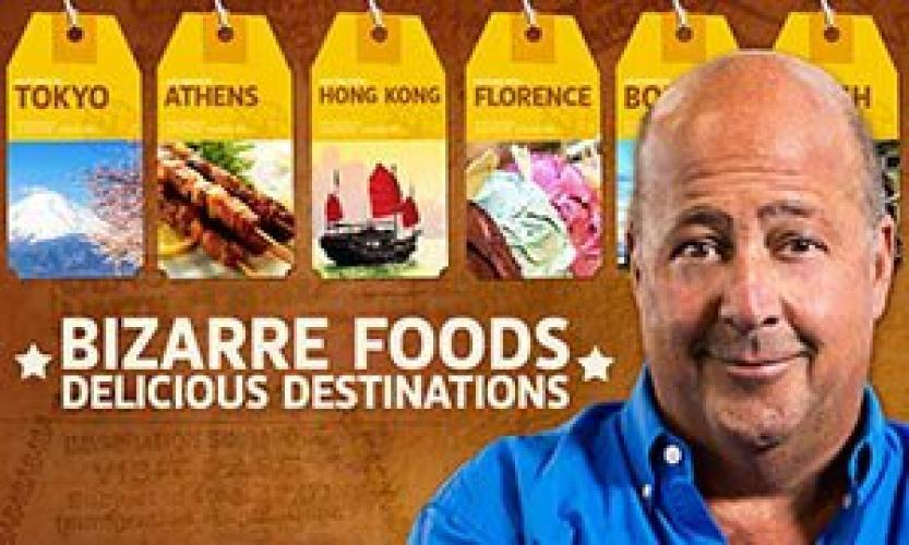 Bizarre Foods: Delicious Destinations next episode air date poster
