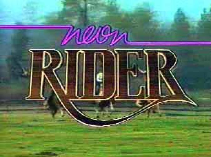 Neon Rider next episode air date poster