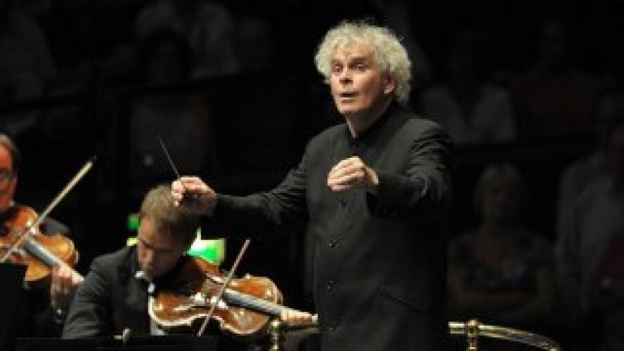 Simon Rattle and the Berlin Philharmonic, London 2015 next episode air date poster