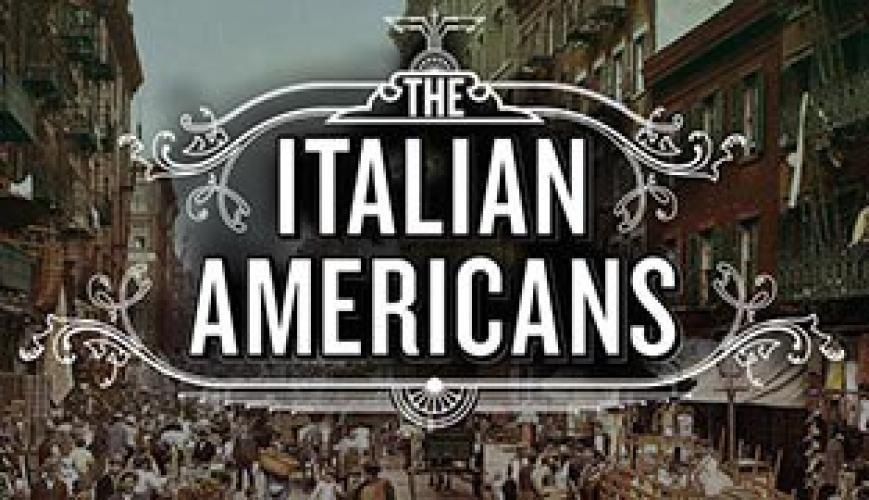 The Italian Americans next episode air date poster