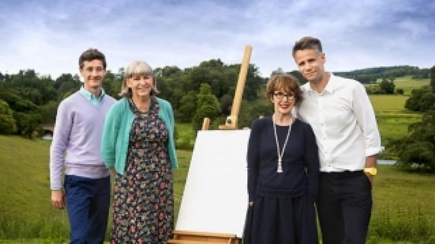 The Big Painting Challenge next episode air date poster