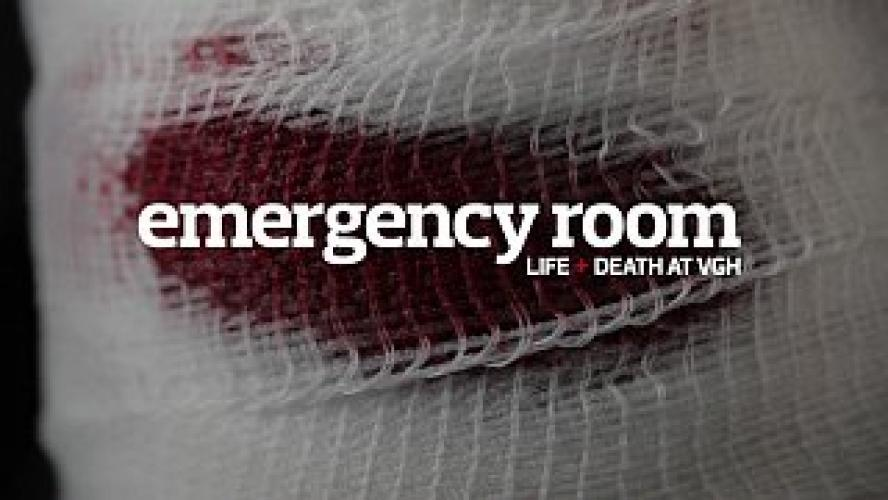 Emergency Room: Life + Death at VGH next episode air date poster