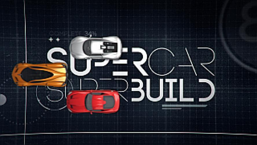 Supercar Superbuild next episode air date poster