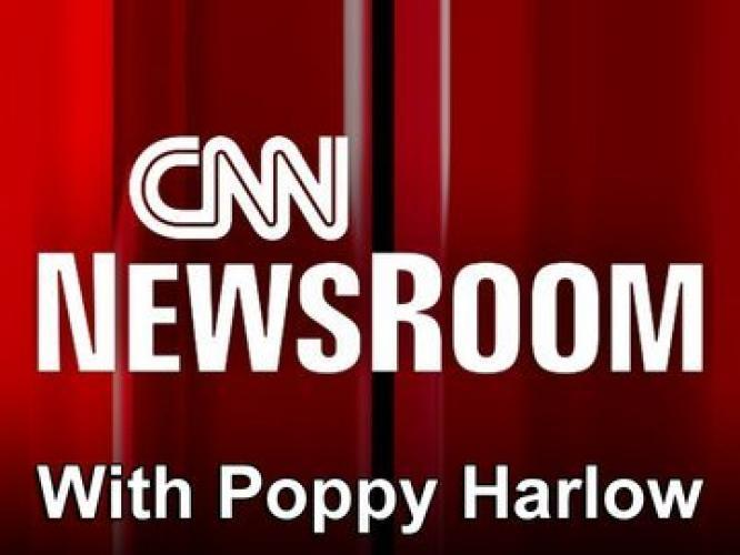 CNN Newsroom with Poppy Harlow next episode air date poster