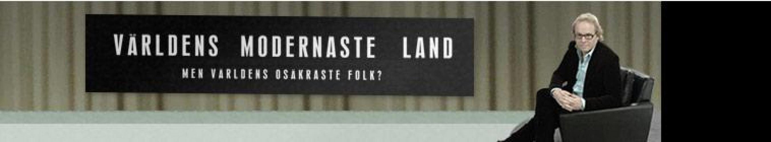 Världens modernaste land next episode air date poster