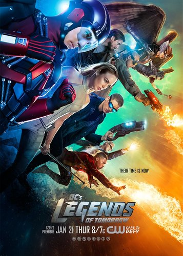 DC's Legends of Tomorrow next episode air date poster