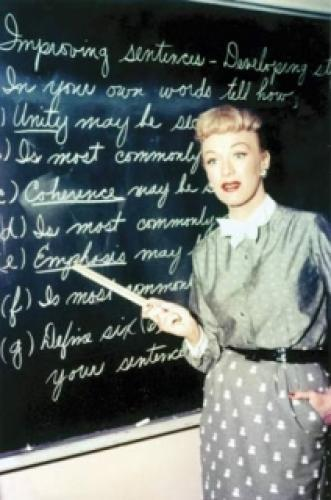 Our Miss Brooks next episode air date poster