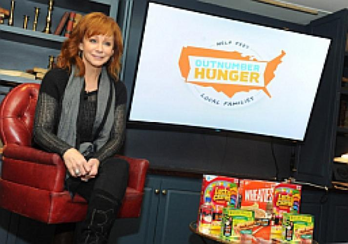 Reba and Friends Outnumber Hunger Concert next episode air date poster