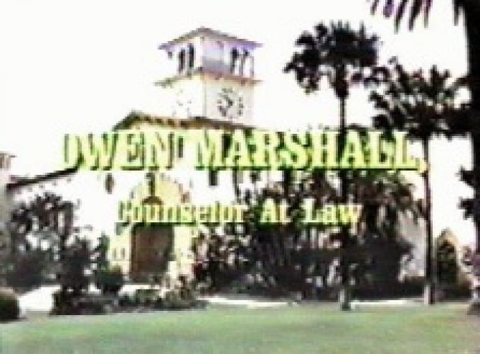 Owen Marshall, Counselor At Law next episode air date poster