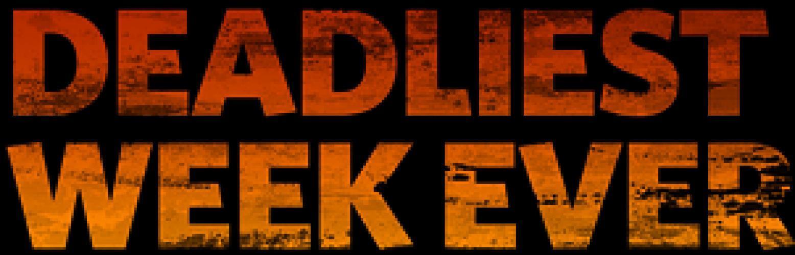 Deadliest Week Ever next episode air date poster