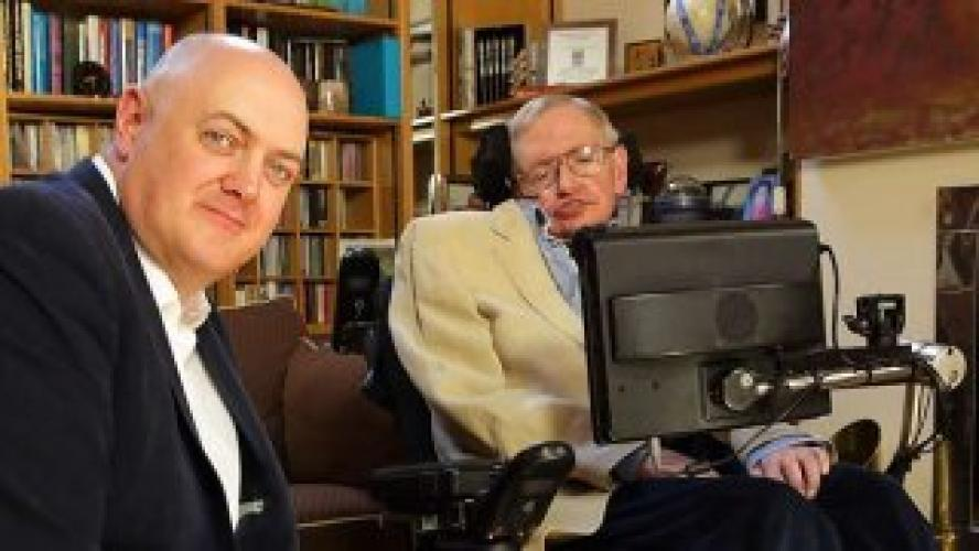 Dara O'Briain meets Stephen Hawking next episode air date poster