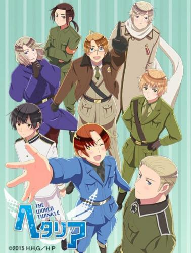Hetalia: The World Twinkle next episode air date poster
