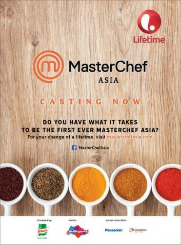 MasterChef Asia next episode air date poster