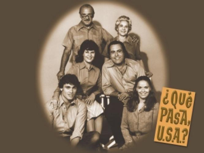 Que Pasa, USA? next episode air date poster