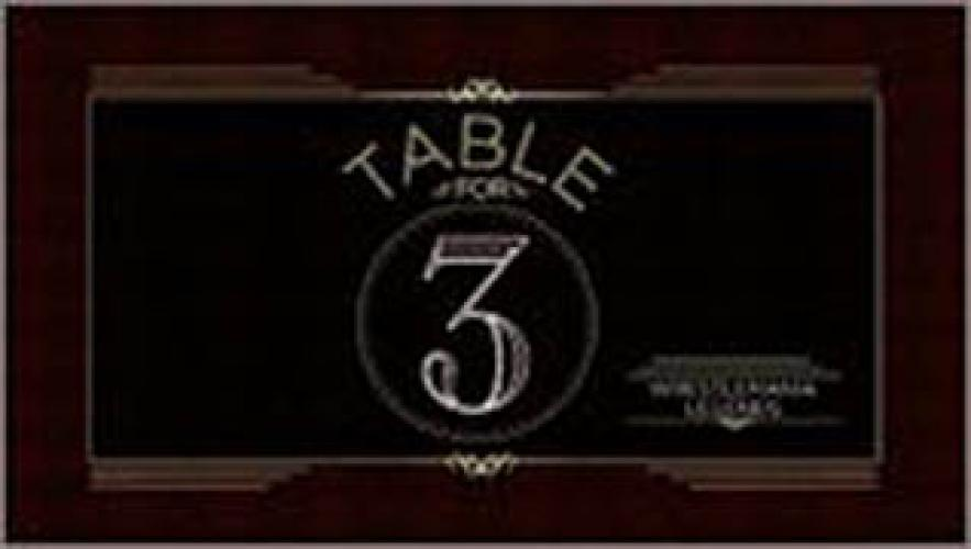 WWE Table for 3 next episode air date poster