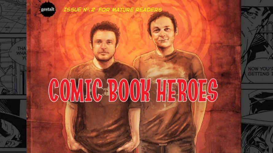 Artscape: Comic Book Heroes next episode air date poster