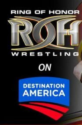 Ring of Honor Wrestling on Destination America next episode air date poster