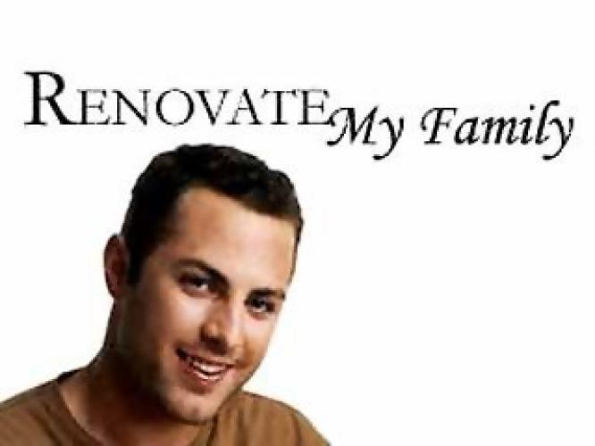 Renovate My Family next episode air date poster