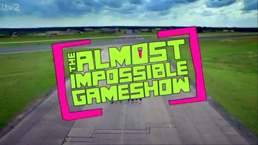 The Almost Impossible Gameshow next episode air date poster