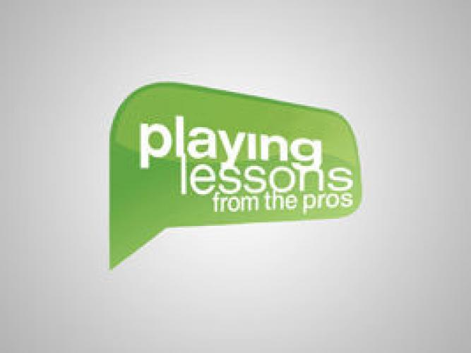 Playing Lessons from the Pros next episode air date poster