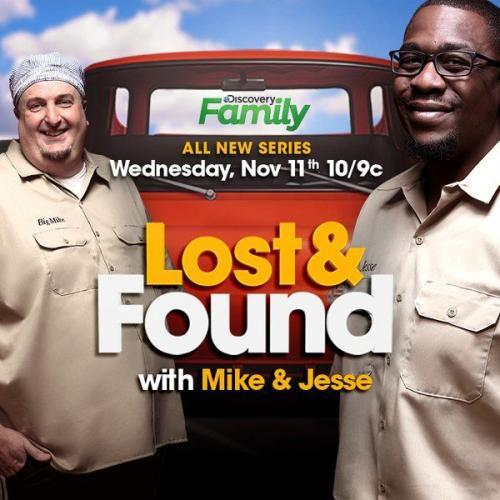 Lost & Found with Mike & Jesse next episode air date poster